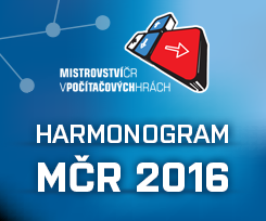 Harmonogram MČR 2016